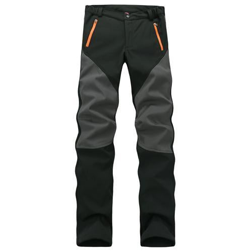 Camping Sport Pants Warm Waterproof Fleece Windproof Fishing Pants Men Women-Pants-Bargain Bait Box-Black-XXL-Bargain Bait Box