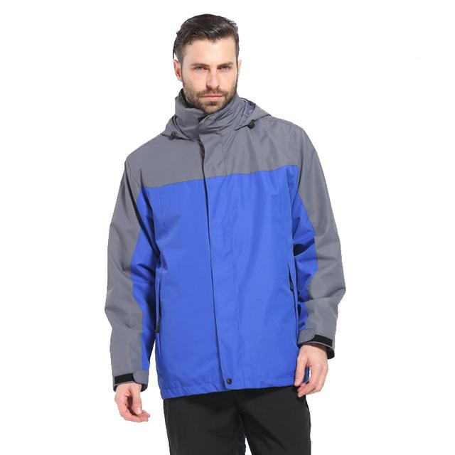 Camping Waterproof Windproof Jacket Fishing Tourism Sports Coat Jackets For Mens-Jackets-Bargain Bait Box-blue-S-Bargain Bait Box