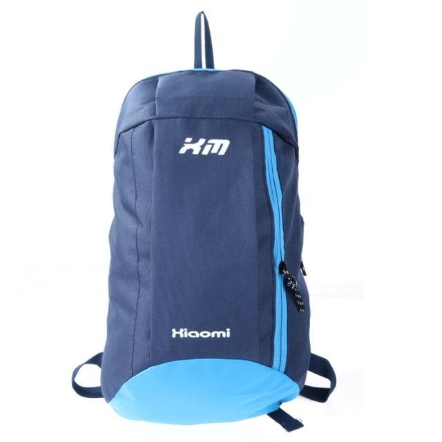 Candy Color Camping Backpack Unisex School Bag Soft Small Canvas Bag Portable-Backpacks-Bargain Bait Box-Dark blue-Bargain Bait Box