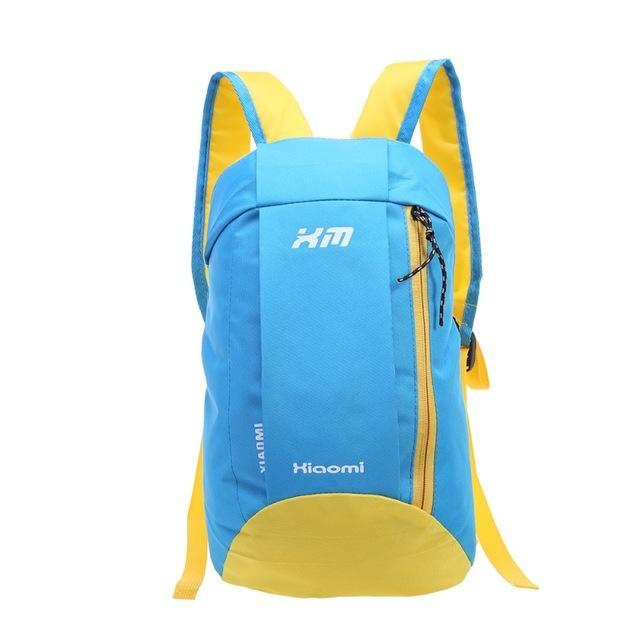 Candy Color Camping Backpack Unisex School Bag Soft Small Canvas Bag Portable-Backpacks-Bargain Bait Box-Light Blue-Bargain Bait Box