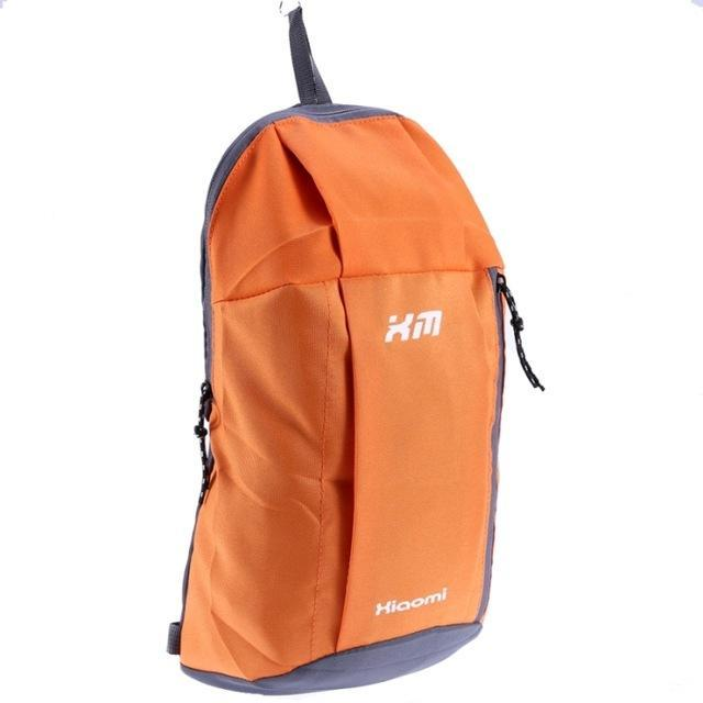 Candy Color Camping Backpack Unisex School Bag Soft Small Canvas Bag Portable-Backpacks-Bargain Bait Box-Orange-Bargain Bait Box