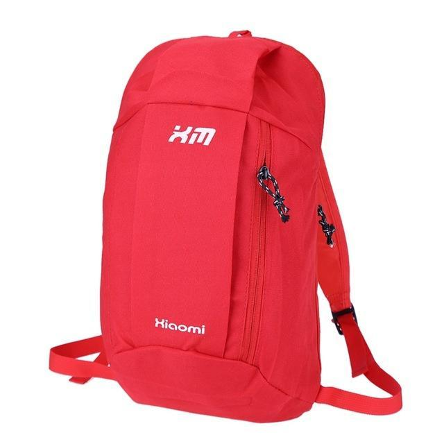 Candy Color Camping Backpack Unisex School Bag Soft Small Canvas Bag Portable-Backpacks-Bargain Bait Box-Red Color-Bargain Bait Box