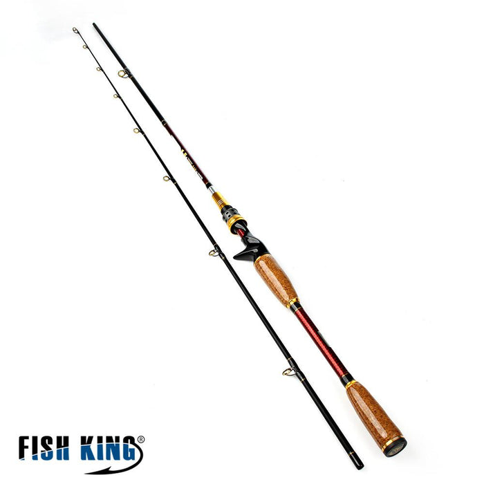 Carbon Hard Rod 2.1M/2.4M Two Segments Sections C.W.10-25G Plug Baitcasting Shop-Baitcasting Rods-Bargain Bait Box-2.1 m-China-Bargain Bait Box