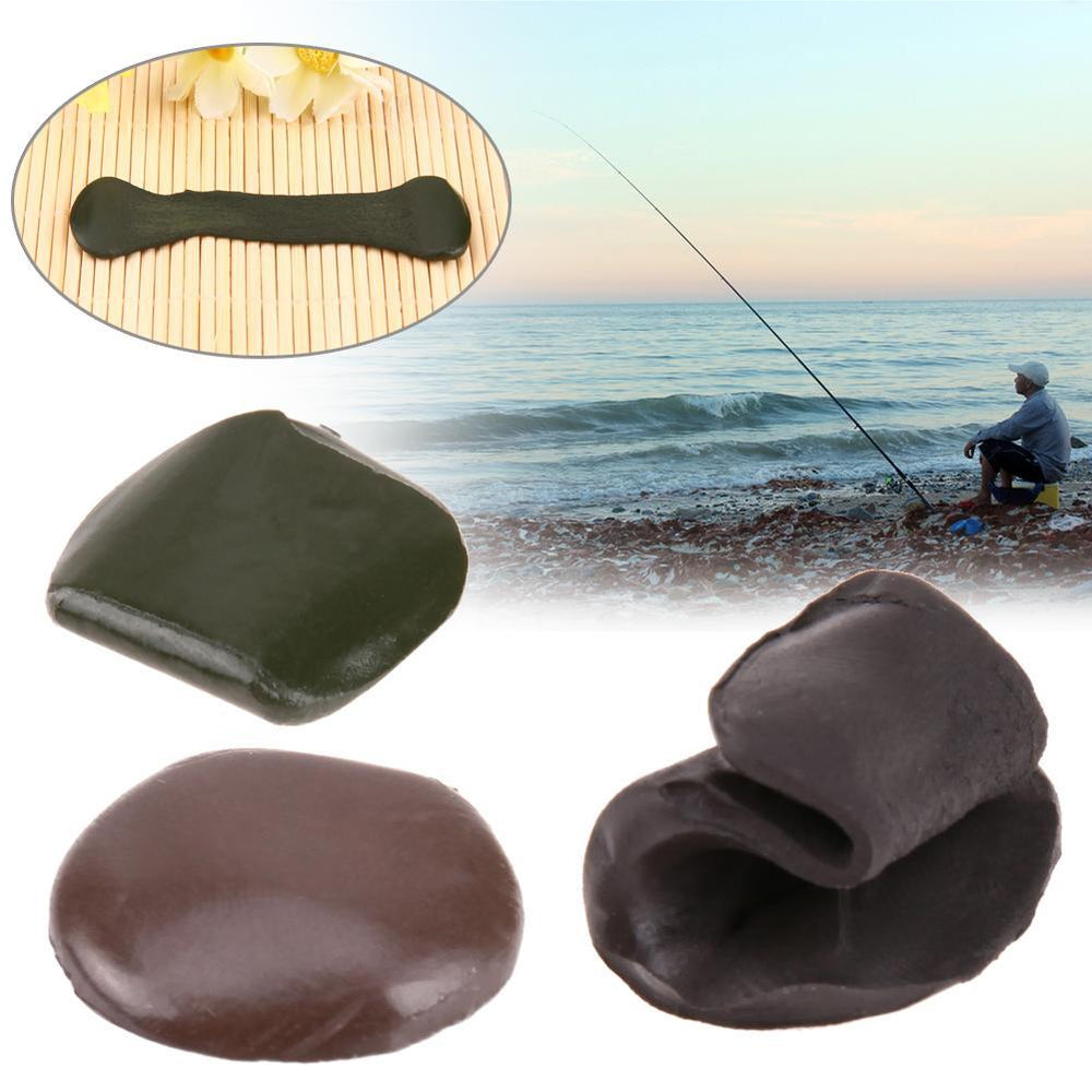 Carp Fishing Accessories 15G Tungsten Lead Rig Putty Mud Fishing Lead Weights-simitter01-Green-Bargain Bait Box