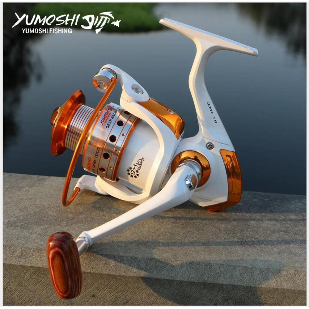 Carp Fishing Reel Spinning Wheel 12+1Bb Boat Rock Fishing Wheel Molinete-Spinning Reels-HUDA Sky Outdoor Equipment Store-1000 Series-Bargain Bait Box