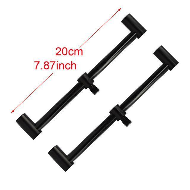 Carp Fishing Rod Pod Fishing Bank Sticks Fit Bite Alarm 55-100Cm For Carp Coarse-Hirisi Fishing Tackle (HongKong) Ltd Store-2pcs BZ201B-Bargain Bait Box