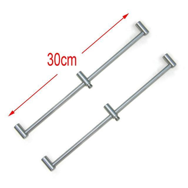 Carp Fishing Rod Pod Fishing Bank Sticks Fit Bite Alarm 55-100Cm For Carp Coarse-Hirisi Fishing Tackle (HongKong) Ltd Store-2pcs BZ303S-Bargain Bait Box