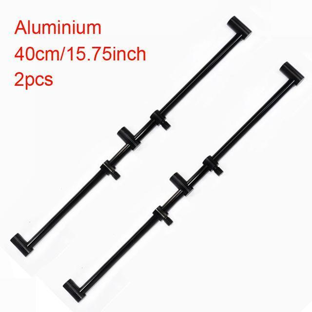 Carp Fishing Rod Pod Fishing Bank Sticks Fit Bite Alarm 55-100Cm For Carp Coarse-Hirisi Fishing Tackle (HongKong) Ltd Store-2pcs BZ405B-Bargain Bait Box
