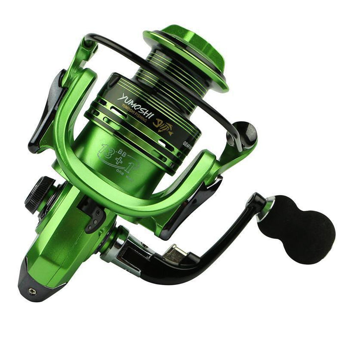 Carp Spinning Fishing Reel 1000-7000 Series Metal Spool Carp Fishing Reels-Spinning Reels-Rompin Fishing Tackle Store-gold-1000 Series-Bargain Bait Box