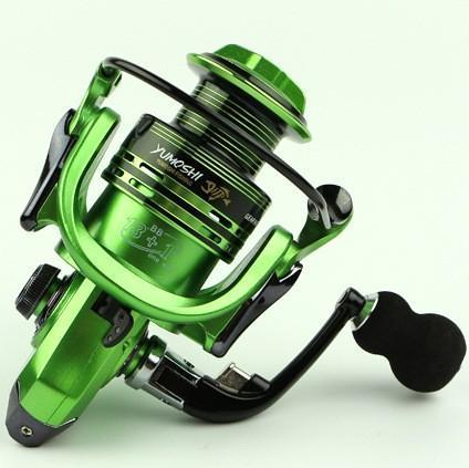 Carp Spinning Fishing Reel 1000-7000 Series Metal Spool Carp Fishing Reels-Spinning Reels-Rompin Fishing Tackle Store-green-1000 Series-Bargain Bait Box