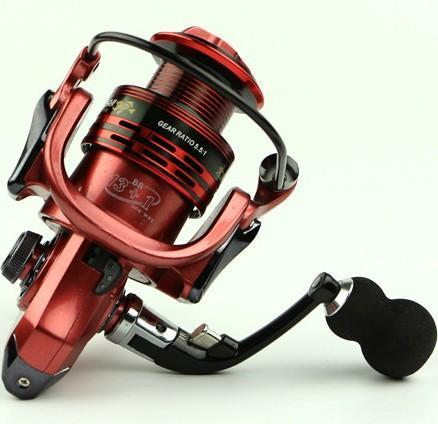 Carp Spinning Fishing Reel 1000-7000 Series Metal Spool Carp Fishing Reels-Spinning Reels-Rompin Fishing Tackle Store-red-1000 Series-Bargain Bait Box