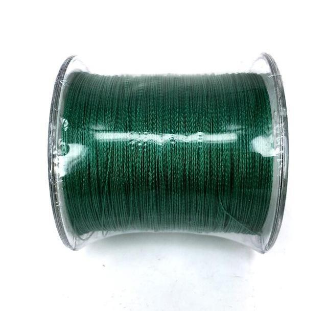 Cheap!!! Pe Braided Fishing Line Multifilament 8 Stands Carp Fishing Rope-HD Outdoor Equipment Store-Green-1.0-Bargain Bait Box