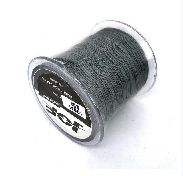 Cheap!!! Pe Braided Fishing Line Multifilament 8 Stands Carp Fishing Rope-HD Outdoor Equipment Store-Grey-1.0-Bargain Bait Box