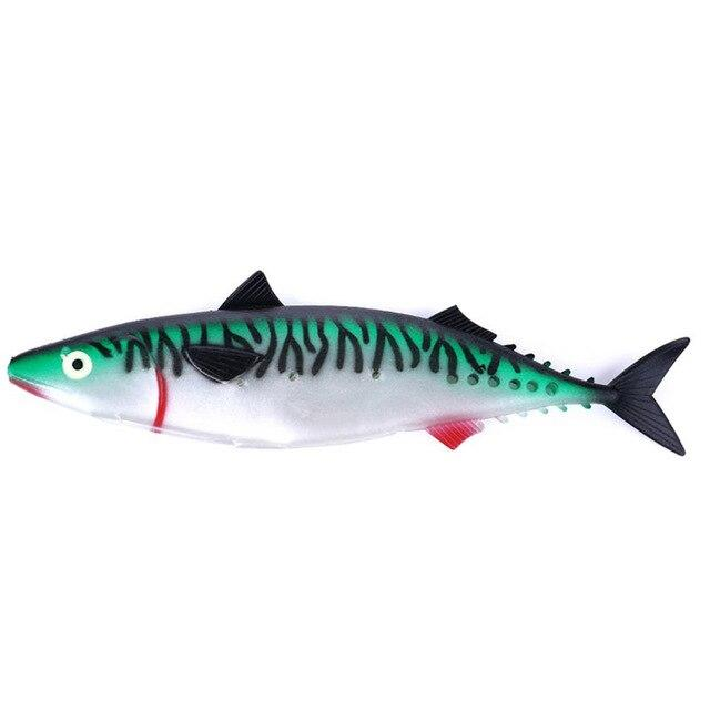 Chest Open Fish Lures Soft Plastic Hand Pole Simulation Baits Artificial Fishing-Unrigged Plastic Swimbaits-ChinaFSA Store-NO.1-Bargain Bait Box