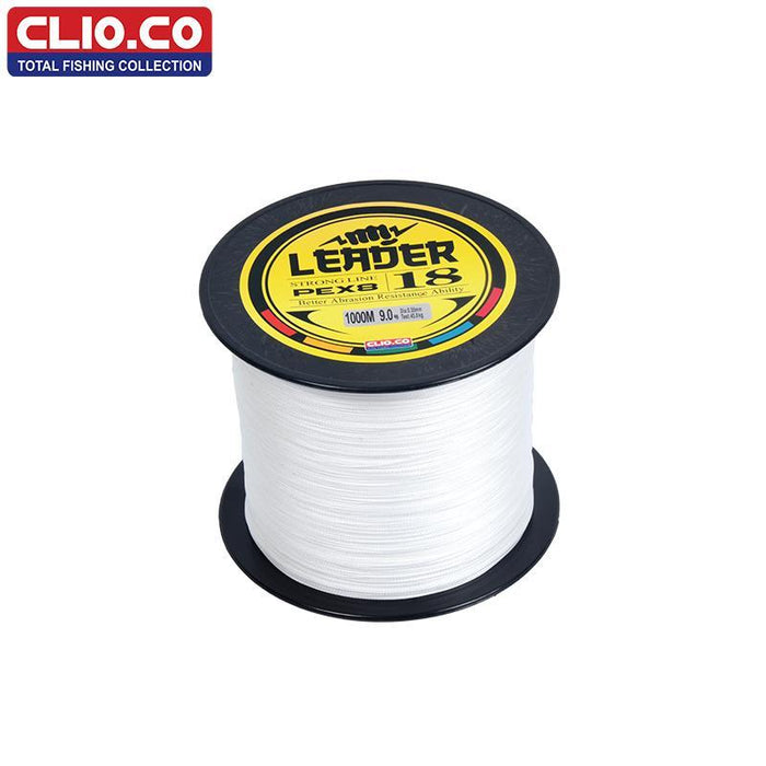 Clio.Cobrand 100M 300M 500M 1000M Super Strong Japan Multifilament White Pe-YUDELI FISHING TACKLE Store-White-0.8-Bargain Bait Box