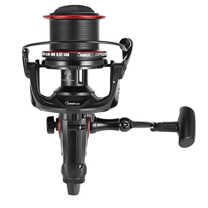 Coonor 12 + 1Bb 4.6:1 Full Metal Spinning Fishing Reel With Double Spool-Spinning Reels-Bike-Lover's Equipment Store-Bargain Bait Box