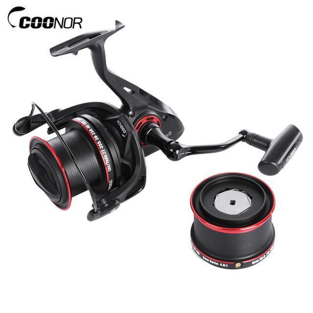 Coonor 12 + 2 Ball Fishing Reels Bearings 4.6:1 Metal Fishing Wheels Carp-Spinning Reels-Outl1fe Adventure Store-Bargain Bait Box