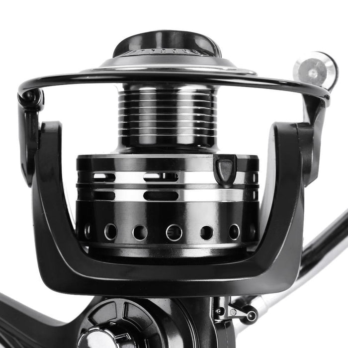 Coonor 4.7:1 Metal Spool Spinning Fishing Reel 11 + 1 Ball Bearings Left/Right-Spinning Reels-Outl1fe Adventure Store-5000 Series-Bargain Bait Box