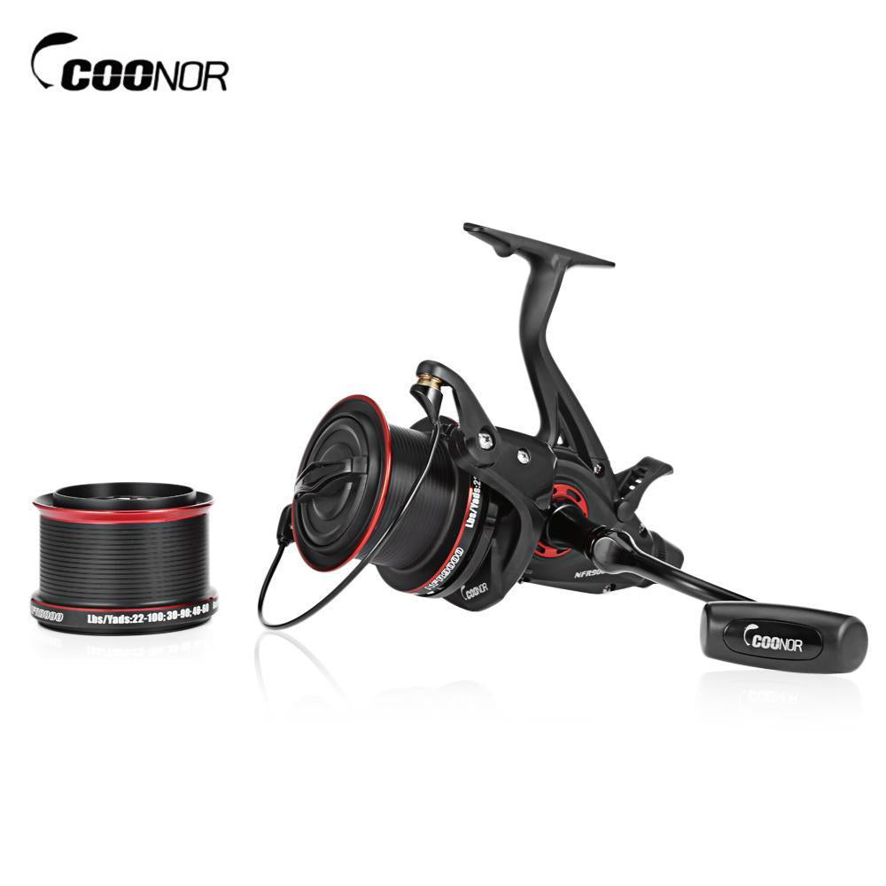 Coonor Nfr9000 +Nfr8000 4.6:1 Full Metal Spinning Fishing Reel 12 + 1 Ball-Spinning Reels-Shenzhen Outdoor Fishing Tools Store-Bargain Bait Box