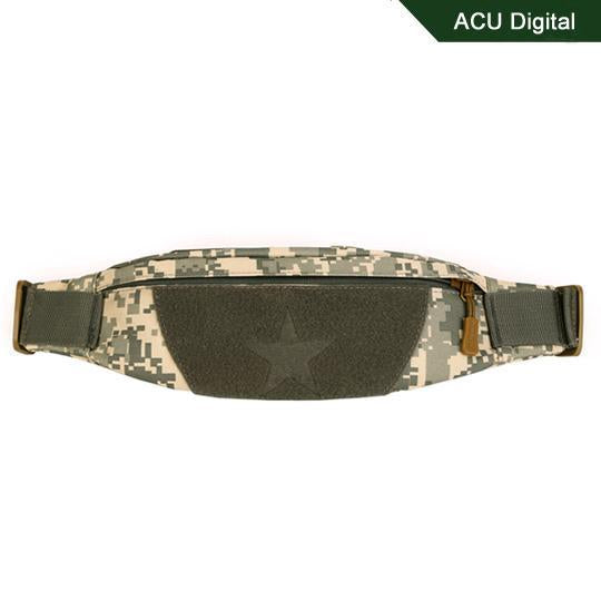 Cordura Motorcycle Tactical Waist Bag Camping Belt Pocket Nylon Camo Military-Bags-Bargain Bait Box-ACU Digital-Other-Bargain Bait Box
