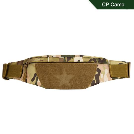 Cordura Motorcycle Tactical Waist Bag Camping Belt Pocket Nylon Camo Military-Bags-Bargain Bait Box-CP Camo-Other-Bargain Bait Box