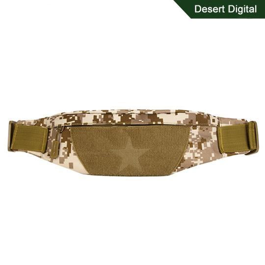 Cordura Motorcycle Tactical Waist Bag Camping Belt Pocket Nylon Camo Military-Bags-Bargain Bait Box-Desert Digital-Other-Bargain Bait Box