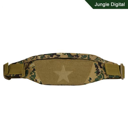 Cordura Motorcycle Tactical Waist Bag Camping Belt Pocket Nylon Camo Military-Bags-Bargain Bait Box-Jungle Digital-Other-Bargain Bait Box