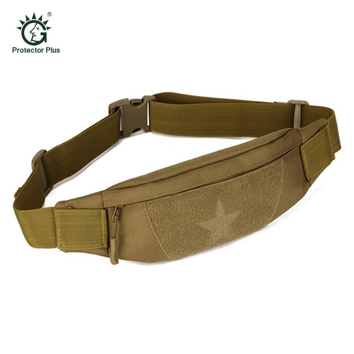Cordura Motorcycle Tactical Waist Bag Camping Belt Pocket Nylon Camo Military-Bags-Bargain Bait Box-Wolf Brown-Other-Bargain Bait Box