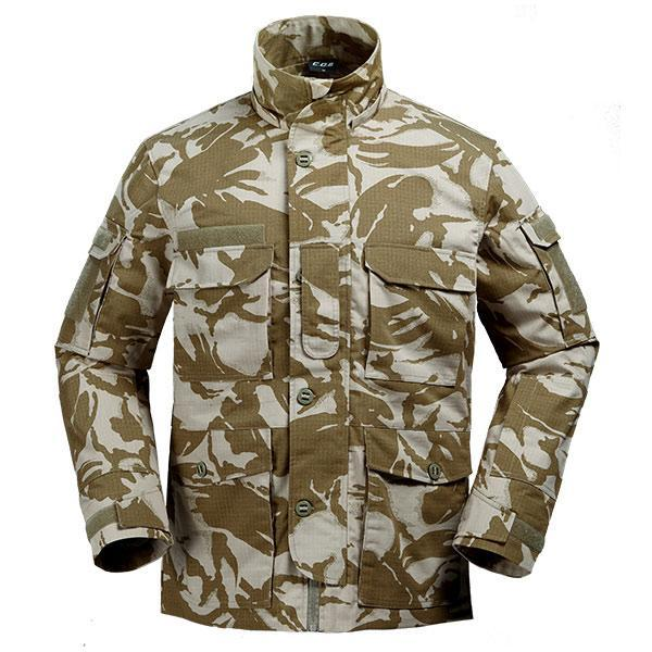 Cqb Tactical Camo Jacket Water Repellent Windproof Camping Fishing Windbreaker-Jackets-Bargain Bait Box-Yin camouflage-L-China-Bargain Bait Box