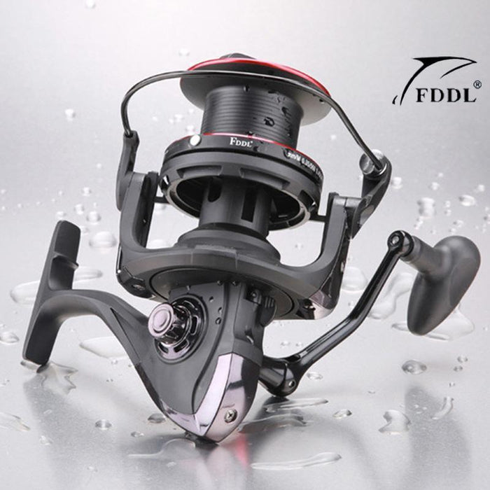 Daben10000 Series 13+1Bb Fishing Reel With 4.1:1 Gear Ratio Saltwater Extra Line-Spinning Reels-RedMeet Fishing Store-Bargain Bait Box