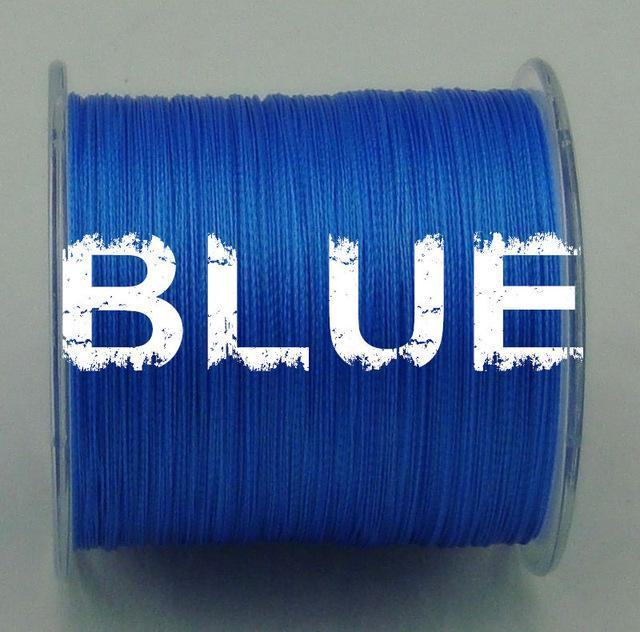 Dah 500M Pe Fishing Line 4 Strands Monofilament Braided Fishing Line Ocean Super-DAH Fishing Tackle Factory Store-Blue-0.4-Bargain Bait Box