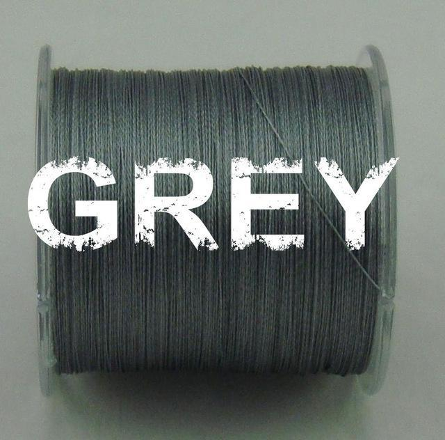 Dah 500M Pe Fishing Line 4 Strands Monofilament Braided Fishing Line Ocean Super-DAH Fishing Tackle Factory Store-Dark Grey-0.4-Bargain Bait Box