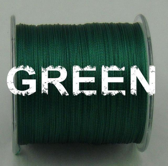 Dah 500M Pe Fishing Line 4 Strands Monofilament Braided Fishing Line Ocean Super-DAH Fishing Tackle Factory Store-Green-0.4-Bargain Bait Box