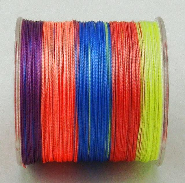 Dah 500M Pe Fishing Line 4 Strands Monofilament Braided Fishing Line Ocean Super-DAH Fishing Tackle Factory Store-Multi-0.4-Bargain Bait Box