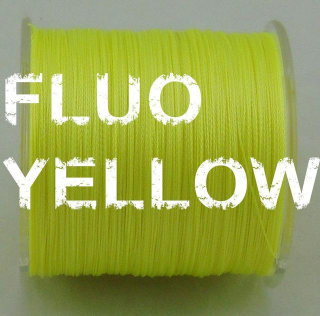 Dah 500M Pe Fishing Line 4 Strands Monofilament Braided Fishing Line Ocean Super-DAH Fishing Tackle Factory Store-Yellow-0.4-Bargain Bait Box