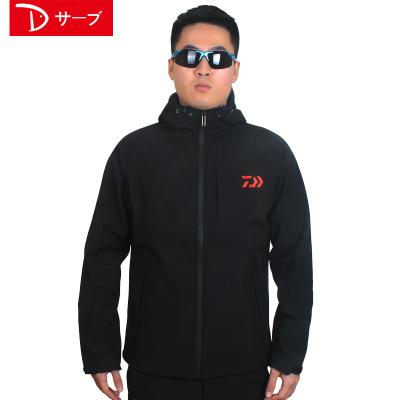 Daiwa Fishing And Jacket Parka Keep Warm Plus Velvet Dawa Waterproof Daiwas-Jackets-Bargain Bait Box-Black-M-Bargain Bait Box