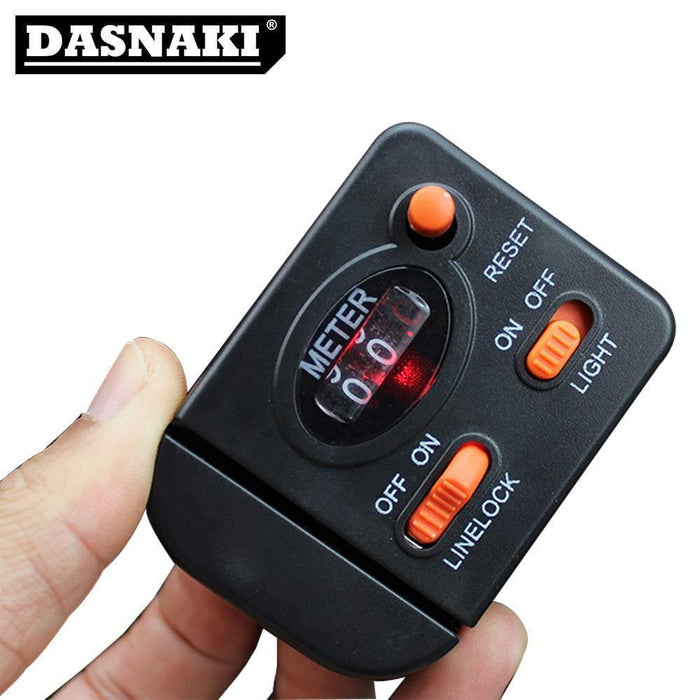Dasnaki Fishing Line Counter Measuring Range 0-99.9M Fishing Lines 60G Weight-There is always a suitable for you-Bargain Bait Box