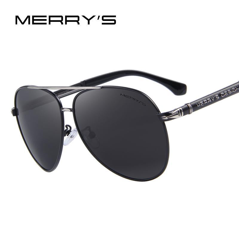 Design Men Classic Sunglasses Hd Polarized Aluminum Sun Glasses Luxury Shades-Polarized Sunglasses-Bargain Bait Box-C01 Black-Bargain Bait Box