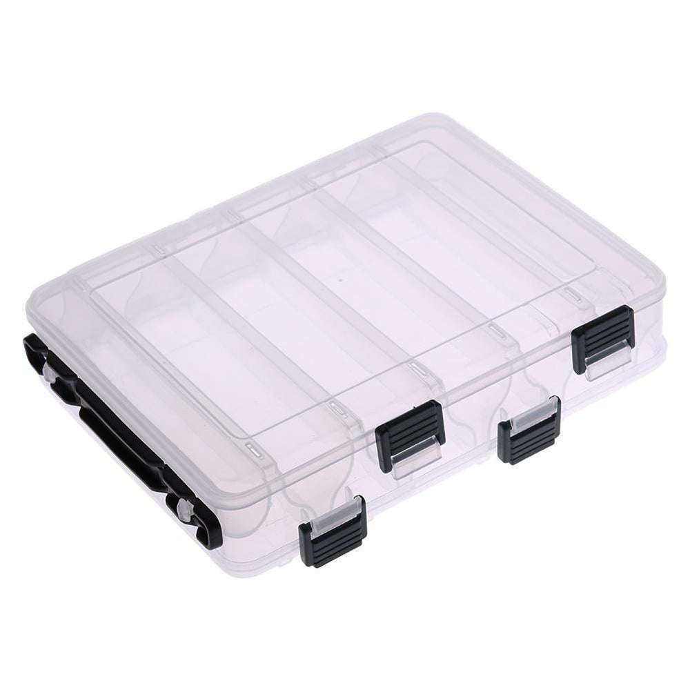 Double Sided 12 Compartment Carp Fishing Box Accessories Lures Bait Storage-Splendidness-Bargain Bait Box
