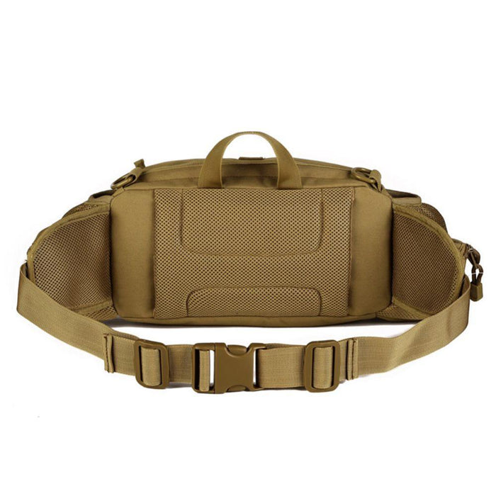 Double Water Bottle Men Nylon Waist Sport Bag Belt Tactical Military Travel-Smiling of Fei Store-New Jungle digital-Bargain Bait Box