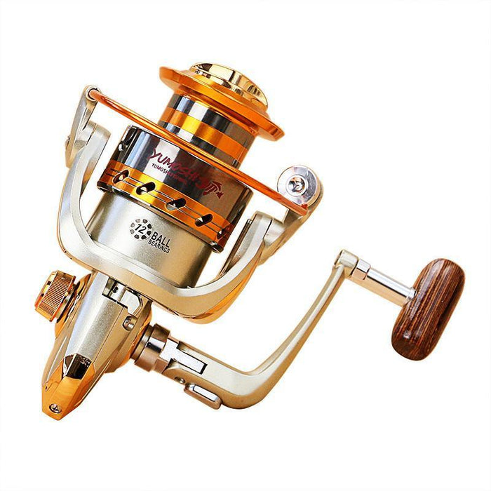 Dsstyles Fishing Reels Jigging Full Metal Reel Spinning Reels Ef1000 - 7000-Spinning Reels-Primitive man Store-1000 Series-Bargain Bait Box