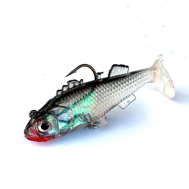 Dynamic 3D Eyes Lead Fishing Bait Crank Bait With Treble Tackle Hooks Mar07-Rigged Plastic Swimbaits-Bargain Bait Box-Bargain Bait Box