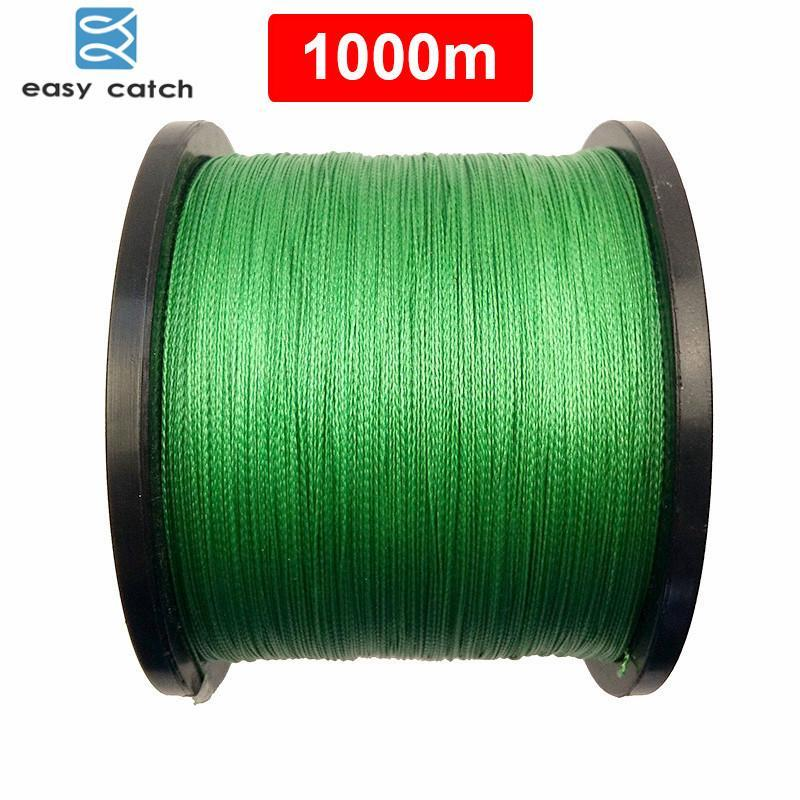 Easy Catch 1000M 1100 Yards 100% Pe Braided Fishing Line Green Braid-Easycatch-fishing tackle Store-0.8-Bargain Bait Box