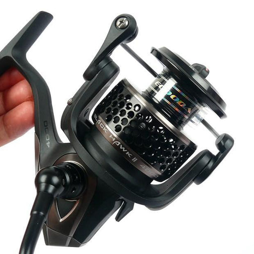 Ecooda Black Hawk Ebh Ii 1500-5000 Second Generation Metal Body Spinning Reell-man's toy Store-1500 Series-Bargain Bait Box