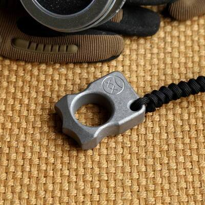 Edc Titanium Alloy Multipurpose Single Holes Tools Meteorite Keychain Outdoors-HA EDC Tools Store-A2-Bargain Bait Box