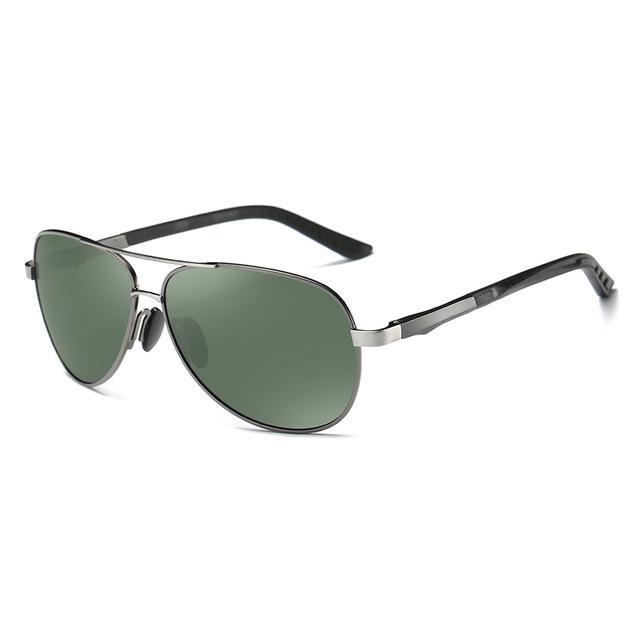 Elitera Aluminum Magnesium Polarized Sunglasses Men Design Fishing Driving Sun-Polarized Sunglasses-Bargain Bait Box-Gray Green-China-Bargain Bait Box