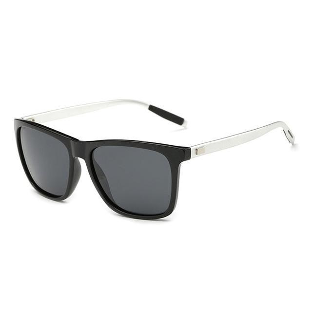 Elitera Aluminum Polarized Sunglasses Men Sport Vintage Sun Glasses Eyewear-Polarized Sunglasses-Bargain Bait Box-Black Gray-Bargain Bait Box