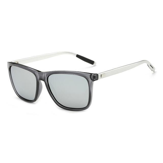Elitera Aluminum Polarized Sunglasses Men Sport Vintage Sun Glasses Eyewear-Polarized Sunglasses-Bargain Bait Box-Gray Silver-Bargain Bait Box
