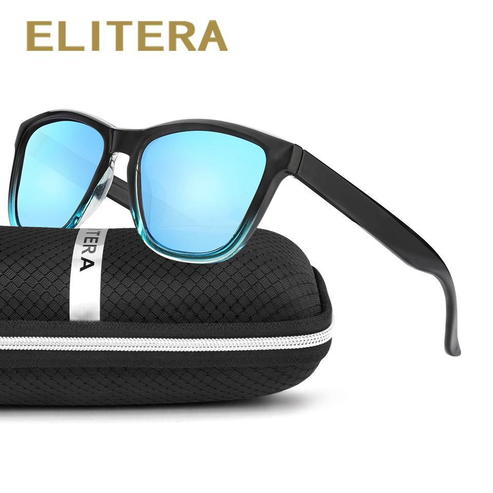 Elitera Polarized Women Sunglasses Famous Lady Gradient Colors Coating Mirror-Polarized Sunglasses-Bargain Bait Box-Leopard-Package A-Bargain Bait Box