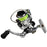 Emmrod Hot Mini100 Pocket Spinning Fishing Reel Alloy Fishing Tackle Small-EMMROD Official Store-Bargain Bait Box